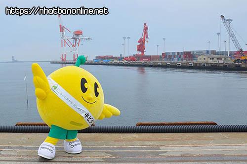 Kibitan - linh vật của tỉnh Fukushima Japan