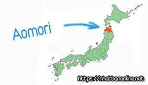 Vị trí tỉnh Aomori Japan