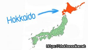 Vị trí tỉnh Hokkado Japan