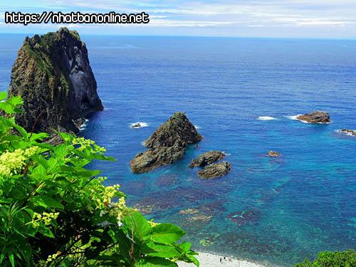 Bờ biển Shimamui - tỉnh Hokkaido Japan