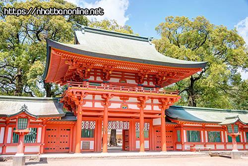 Đền Hikawa-jinja - ngôi đền nổi tiếng ở tỉnh Saitama Japan