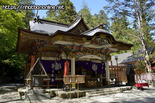 Đền Hodosan-jinja - tỉnh Saitama Japan