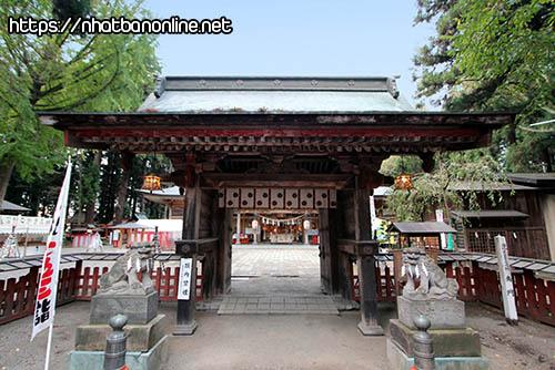 Đền Kushihiki Hachimangu