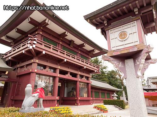 Đền thờ Kasama Inari-jinja - tỉnh Ibaraki Nhật Bản