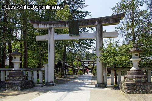 Đền thờ Uesugi-jinja - tỉnh Yamagata Japan