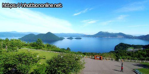Hồ Toya - tỉnh Hokkaido Japan