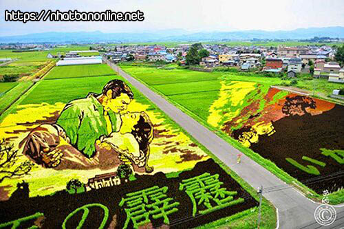Nghệ thuật Tanbo - tỉnh Aomori Japan