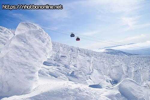 Rừng băng tuyết Zao - tỉnh Yamagata Japan