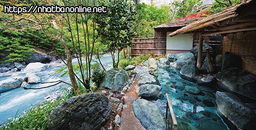 Suối nước nóng Kuroyu Onsen - tỉnh Akita Japan