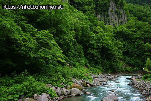 Thung lũng Tennin - tỉnh Hokkaido Japan