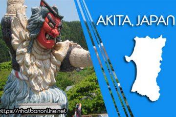 Tỉnh Akita Japan với những lễ hội pháo hoa rực rỡ sắc màu