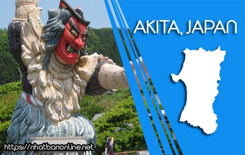 Tỉnh Akita Japan