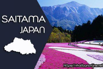 Tỉnh Saitama Japan với những dấu ấn của ngành đường sắt Nhật Bản