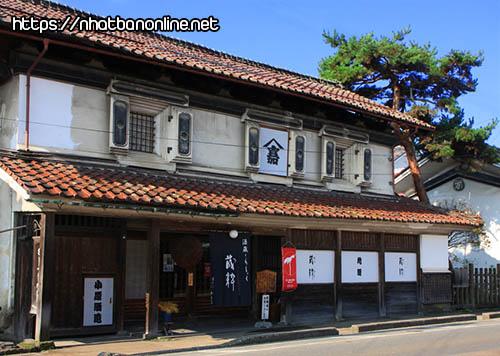Xưởng chế biến rượu Obarashuzo - tỉnh Fukushima Japan