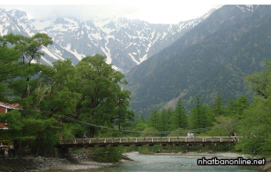 Cầu Kappa - Khu vực Kita Alps, tỉnh Nagano Nhật Bản