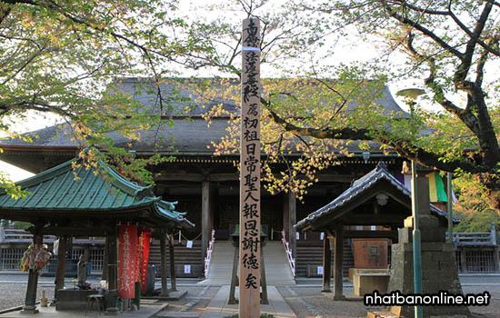 Chùa Nakayama Hokekyo-ji - ngôi chùa có từ năm 1333