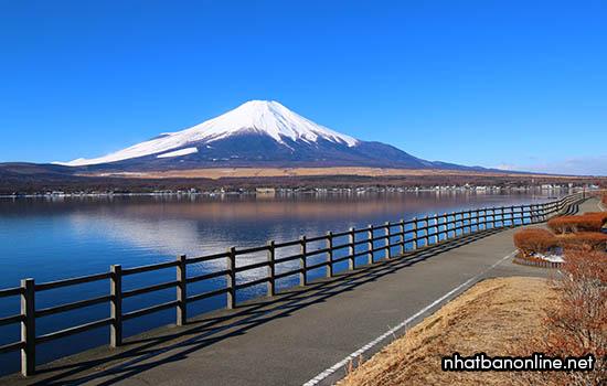Công viên Nagaike Shinsui - Điểm ngắm núi Phú Sĩ tuyệt vời