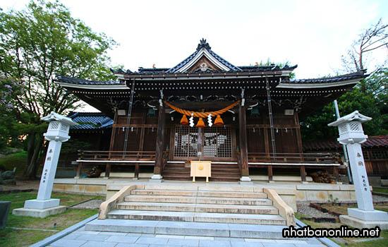 Đền Ôn Hiyoshi Jinja - tỉnh Ishikawa Nhật Bản