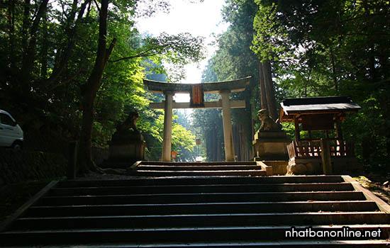 Đền thờ Hida Sannogu Hie Jinja - tỉnh Gifu Japan