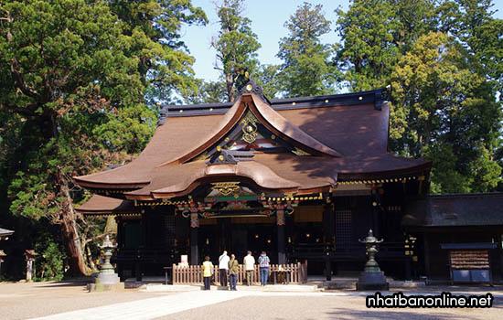 Đền thờ Katori-jingu - ngôi đền lâu đời nhất nước Nhật