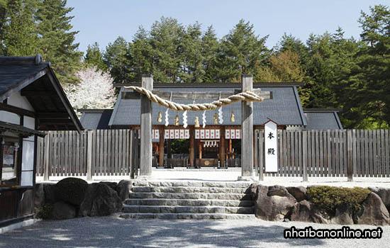 Đền thờ Misogi-jinja - tỉnh Yamanashi Japan
