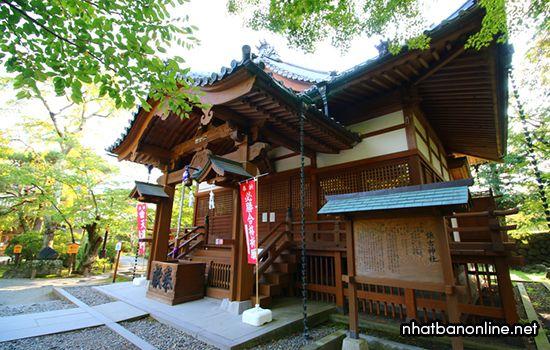 Di tích lâu đài Komoro - tỉnh Nagano Nhật Bản