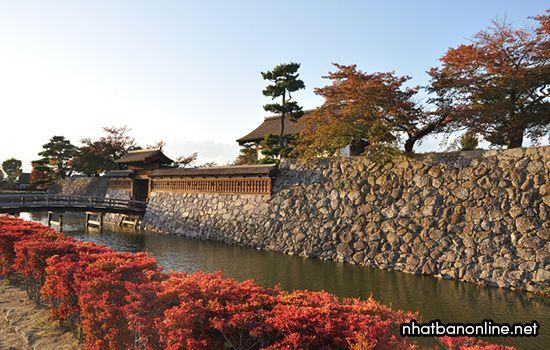 Di tích thành Matsushiro - tỉnh Nagano Japan