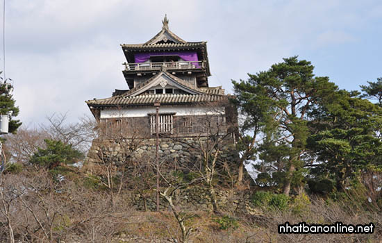 Thành Maruoka - tỉnh Fukui Japan