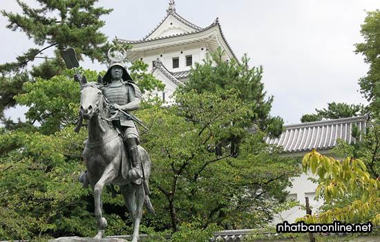 Thành Okagi-jo - tỉnh Gifu Japna