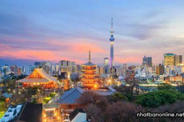 Thủ đô Tokyo của Nhật – trung tâm văn hóa kinh tế lớn của thế giới