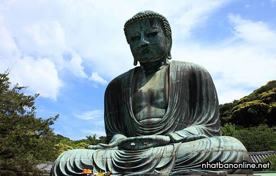 Tượng đại phật Kamakura-Daibutsu - tỉnh Kanagawa Japan