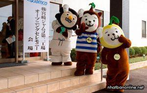 3 chú chó Miyazaki - linh vật của tỉnh Miyazaki Japan