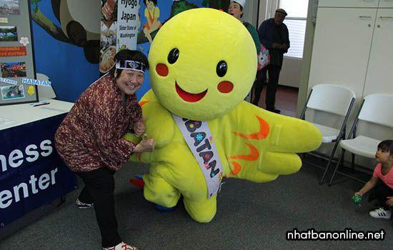 Habatan - linh vật của tỉnh Hyogo