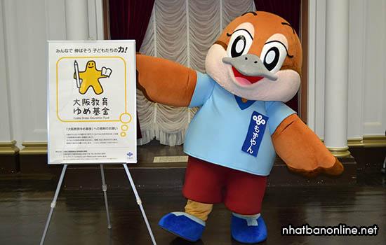 Mozuyan - linh vật của tỉnh Osaka Japan