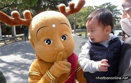 Sento-kun - linh vật của tỉnh Nara Japan