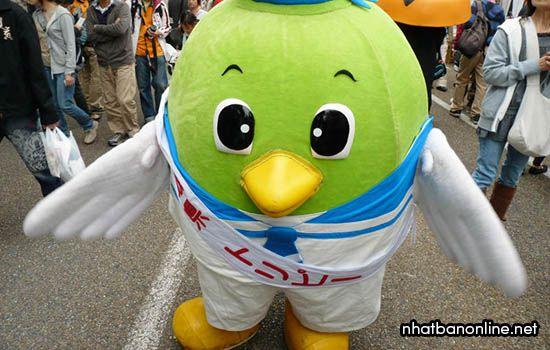 Toripy - linh vật của tỉnh Tottori Nhật Bản