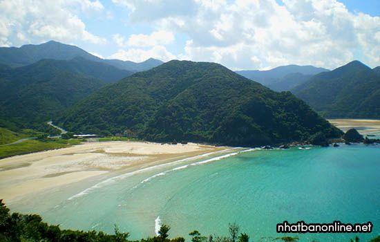 Bãi biển Takahama - tỉnh Nagasaki Nhật Bản