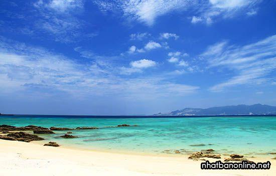 Bãi biển Kise - tỉnh Okinawa Nhật Bản