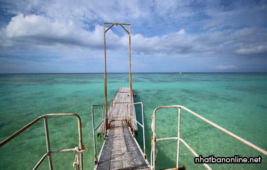 Bãi biển Mirai - tỉnh Okinawa Nhật Bản