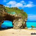 Bãi biển Sunayama - tỉnh Okinawa Nhật Bản