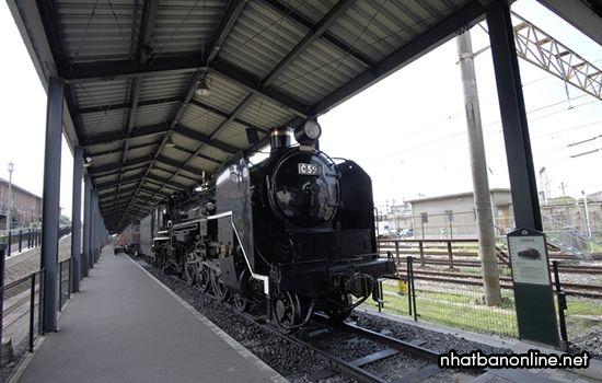 Bảo tàng lịch sử đường sắt Kyushu - tỉnh Fukuoka Nhật Bản