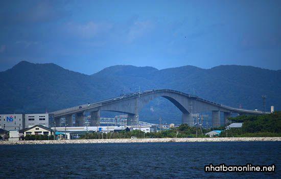Cầu Eshima Ohashi - tỉnh Shimane Japan