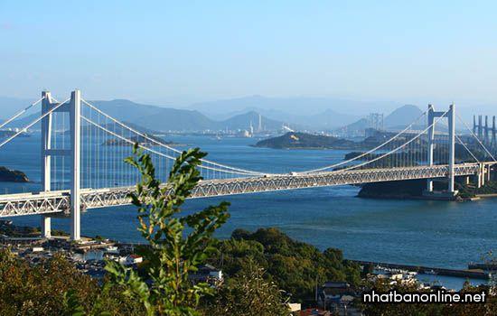 Cầu Seto Ohashi - tỉnh Okayama Nhật Bản