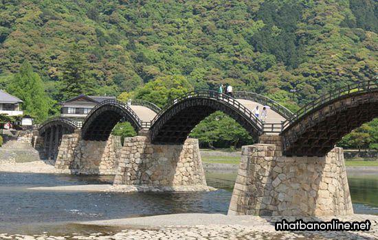 Cầu Kintai - tỉnh Yamaguchi Japan