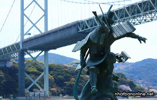 Chiến trường lịch sử Dannoura - tỉnh Yamaguchi Japan