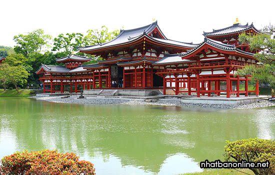 Chùa Byodo-in - tỉnh Kyoto Japan