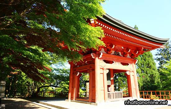 Chùa Enryaku-ji - tỉnh Shiga Nhật Bản