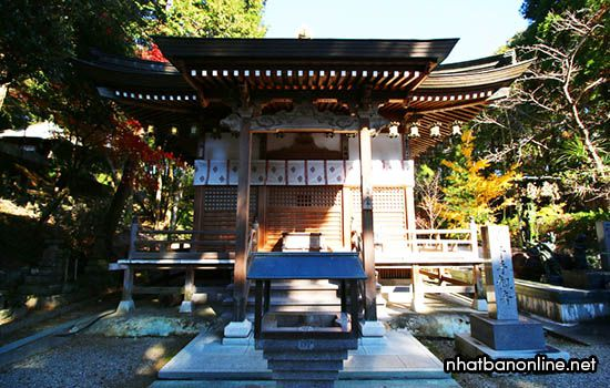 Chùa Gokuraku-ji - tỉnh Tokushima Japan