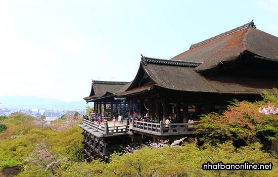 Chùa Kiyomizu-dera - tỉnh Kyoto Japan