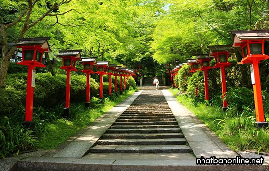 Chùa Kurama-dera - tỉnh Kyoto Japan